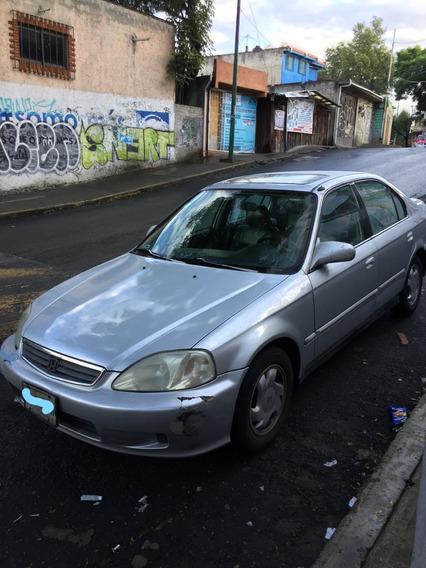 Honda Civic Factura Original 2 Dueño, Verificación 2020
