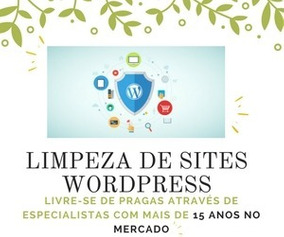 Limpeza De Sites Wordpress - Limpeza De Vírus
