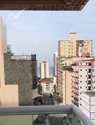 Imagem 1 de 20 de Apartamento Com 3 Dorms, Guilhermina, Praia Grande - R$ 450.000,00, 90m² - Codigo: 164 - V164