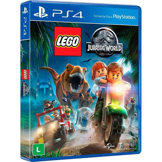 Lego Jurassic World Ps4 Dublado Em Português Mídia Física