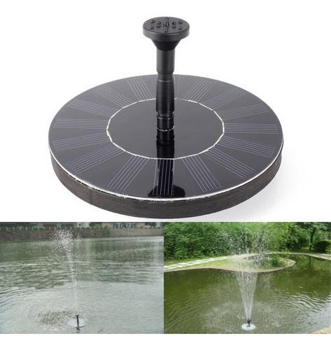 7v Bomba De Água Flutuante Painel Solar Plantas Jardim Água