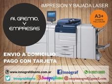 Impresión Láser Hasta 32x47 Hasta 300grs En Monte Grande