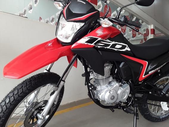 Honda Nxr 160 Bros Esdd Com Cbs Vermelho 2020