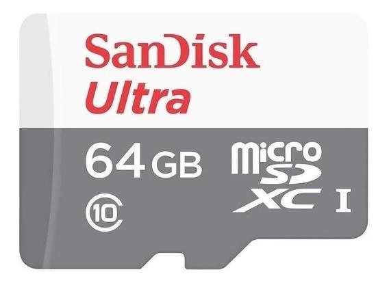 Cartão De Memória Sandisk Sdsquns-064g Ultra 64gb