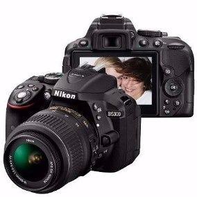 Câmera Nikon D5300 Lente 18-55 +32gb Class 10 + Bolsa