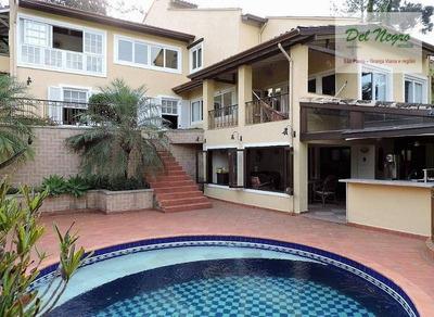 Casa Residencial À Venda, Miolo Da Granja Viana. - Ca0848
