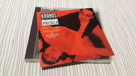 Cd Kronos Quartet & Astor Piazzolla - Five Tango Sensations