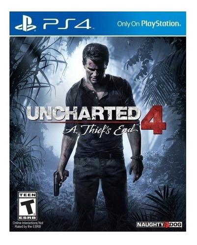 Imagen 1 de 4 de Uncharted 4: A Thief's End Standard Edition Sony PS4 Digital