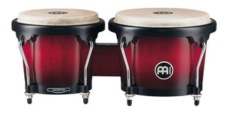Meinl Bongoe De Madera Headliner Series Hb100wrb Wine Red