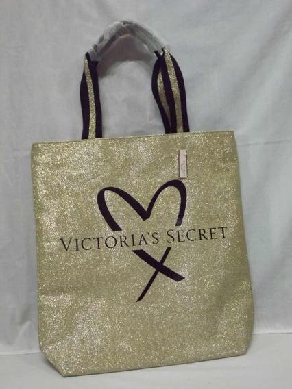 Bolso Victorias Secret Dorado