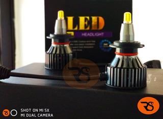 Kit Led R1 Black 360° Premium 18000lm Especial Para Lupas H7 H8 H9 H11