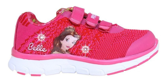 Zapatillas Disney Princesa Bella Luz Addnice Flex Mundomania