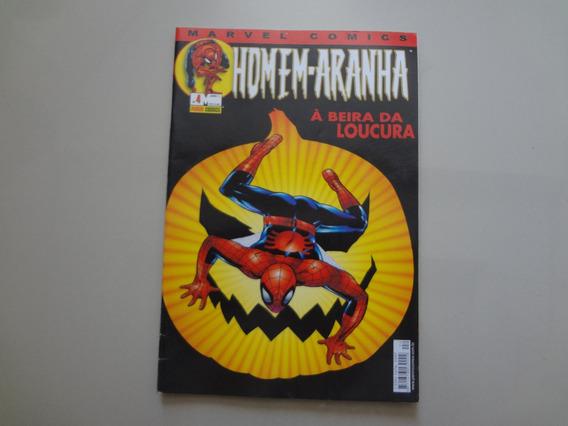 Revista Homem-aranha Nº 4 Abril 2002 A Beira Da Loucura