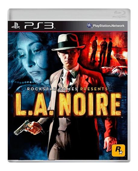 La Noire - Ps3 - Original - Usado