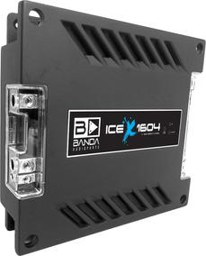 Módulo Amplificador Banda Ice X 1604 1600 Wrms 4 Ohms