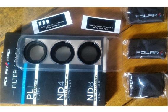 Kit Filtros Para Gopro 3+ E 4+ Originais Polarpro