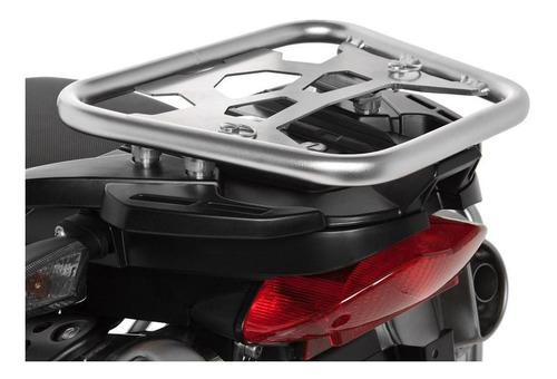 Imagem 1 de 3 de Suporte Em Aço Inox P/ Topcase Zega Pro P/ Bmw G650 Gs
