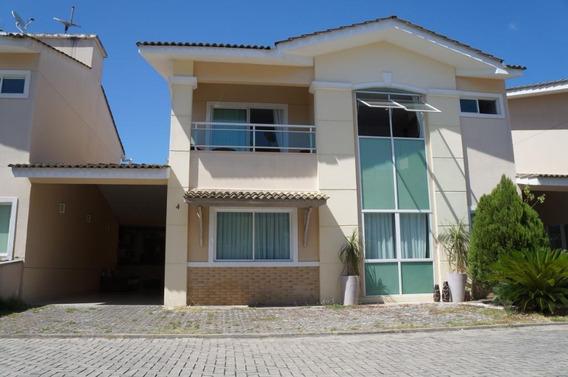 Linda Casa Em Condomínio Na Lagoa Redonda - Ca1027