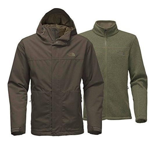 The North Face Mens Frdyce Triclimate Jacket (new Taupe G...