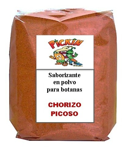 1 Kg Polvo Sabor Chorizo Picoso Palomitas, Papas, Chicharron