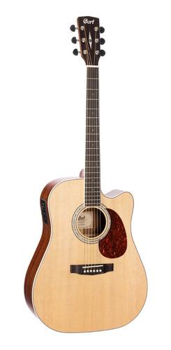 Imagen 1 de 6 de Guitarra Electroacustica Mr710f Natural Satin Cort
