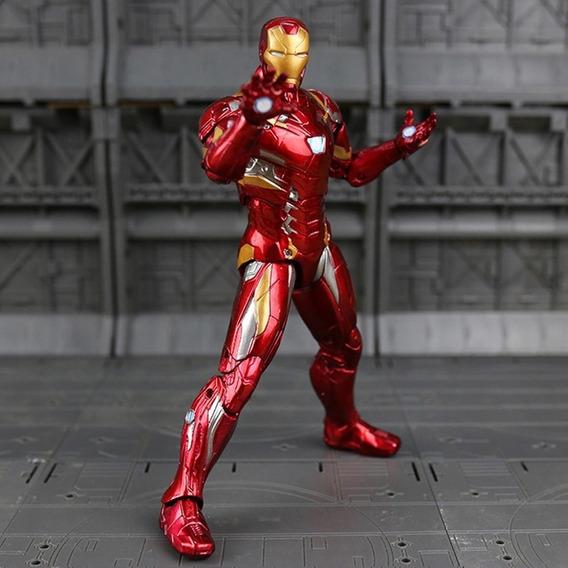 Homem De Ferro - Tony Stark Figura De Ação - Frete Grátis!