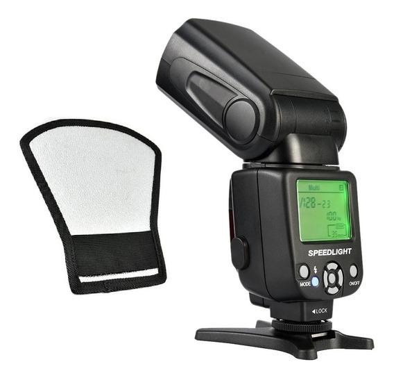 Flash Universal Tr-950 Serve Para Canon E Nikon T4i T6 T5i