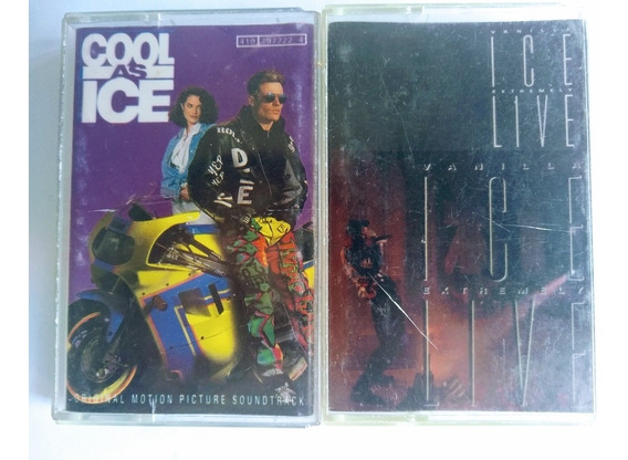 Vanilla Ice Cassettes Cool As Ice Live
