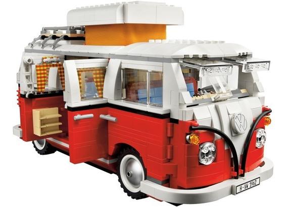 Lego Volkswagen T1 Camper Van 10220 Original Bricktoys
