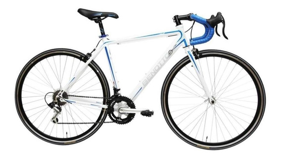 Bicicleta Benotto Ruta 570 Aluminio R700c 14v Shimano Blanca