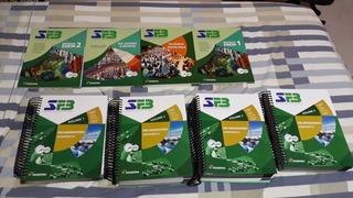 Apostilas Do Sistema Farias Brito Completa 4 Volumes