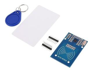 Módulo Rfid Rc522 13.56mhz + Cartão + Chaveiro Mifare