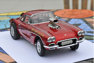 Corvette Mazmanian Pro-stock 1/18 - Precision Miniatures