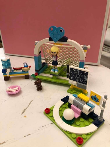 Lego Friends Entretenimiento Futbol . Número 41330