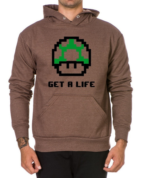 Blusa De Frio Moletom Unissex Mario Bros Game Geek