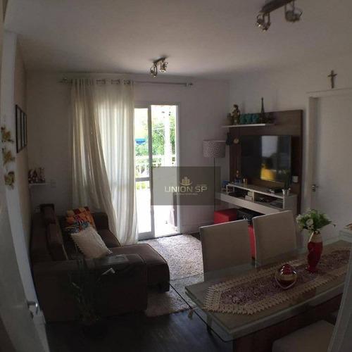 Apartamento Com 1 Dormitório À Venda, 49 M² Por R$ 450.000,00 - Ipiranga - São Paulo/sp - Ap38386