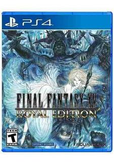 Juego Ps4 Final Fantasy Xv Royal Edition (latam)