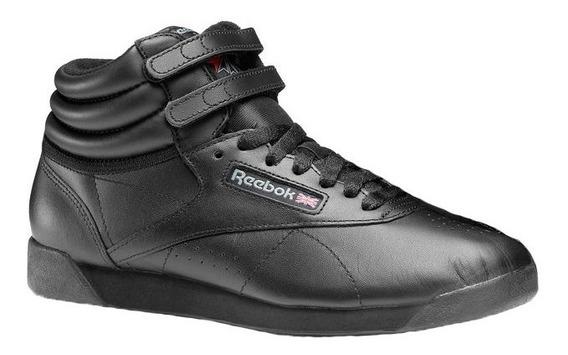 Zapatillas Botitas Reebok Classics Freestyle Import Bco O Ne