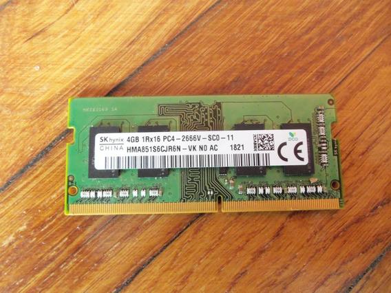 Memoria Ram Lenovo 4 Gb Sk Hynix Pc4 De Notebook A Testear.