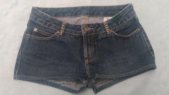 041 Short Forum, Jeans Azul