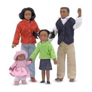 Familia De Muñecas Melissa & Doug Escala 1:12