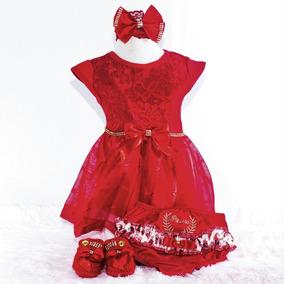 Roupas De Bebe Menina Kit 4 Peças