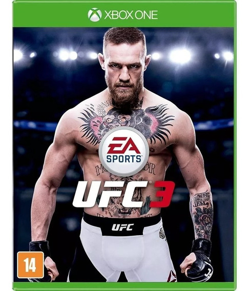 Ufc 3 - Xbox One Midia Fisica Pronta Entrega Nacional Br