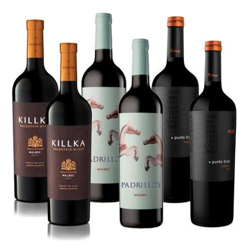 Killka - Padrillos - Punto Final (6 Vinos)