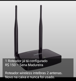 Roteador Wireless Intelbras 2 Antenas