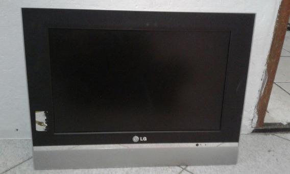 Tv De Lcd Lg Flatron 17 Polegadas (defeito)