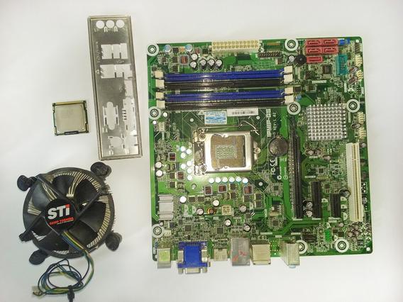 Processador I3 540 Lga 1156 / Placa Mãe Ipmip Def. / Cooler