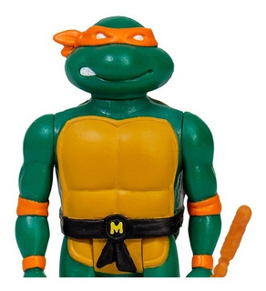 Super 7 Reaction Teenage Mutant Ninja Turtles Michelangelo