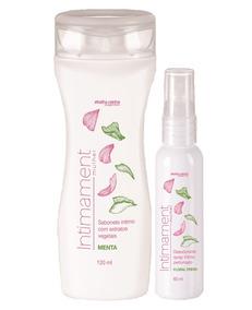 Kit Intimament Sabonete Intimo Menta + Spray Intimo Floral A