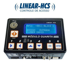 Módulo Guarita Ip Linear Hcs 2010 Controle De Acesso Ip